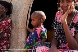 Eritrean Border, Ethiopia -- Eritrean refugees take shelter in the Afar Region of Ethiopia. Photo by Bikem Ekberzade